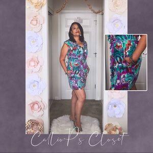 Anthropologie Charlie Jade Floral Print Mini Dress